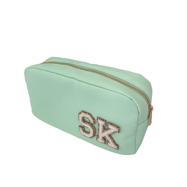 Mint Green Medium Pouch - 2 patches