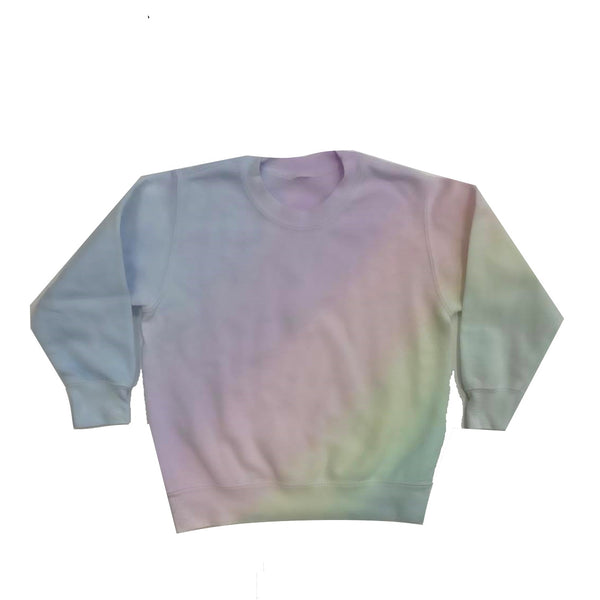 Rainbow Ombre Sweatshirt - Mini
