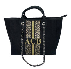 Chanella Chain Bag - Leopard Print