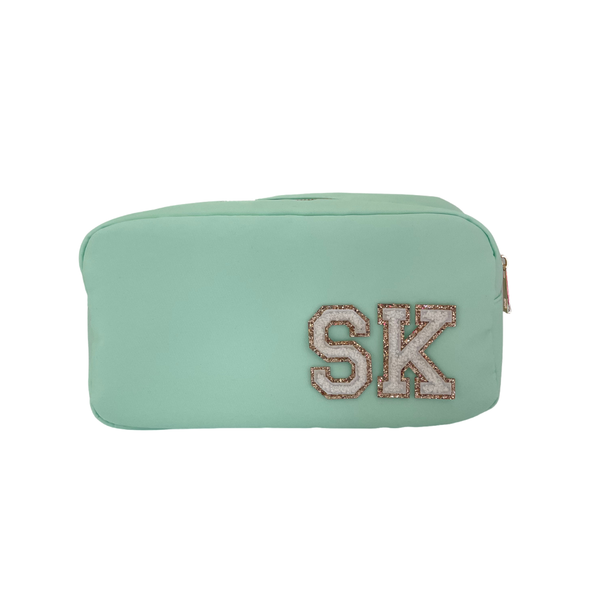 Mint Green Small Pouch - 2 patches