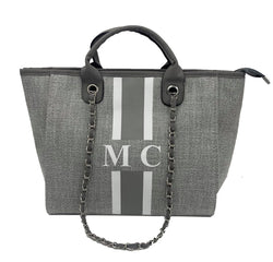 Chanella Chain Bag Duo - Grey