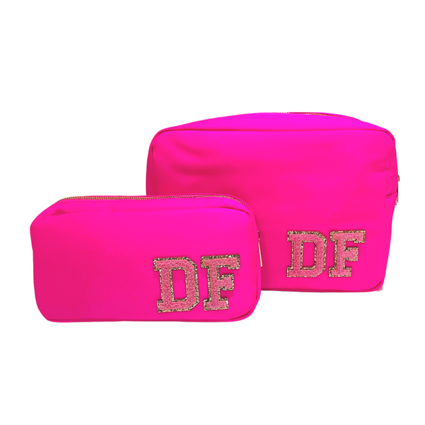 Neon Pink Pouch Gift set