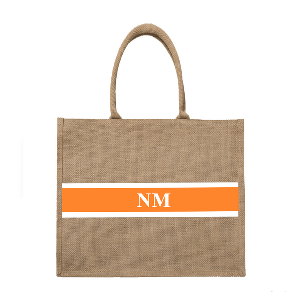 Horizontal Personalised Tote Bag Large