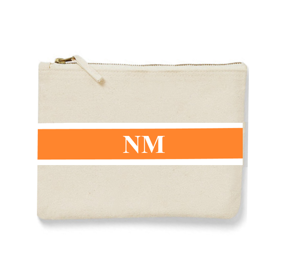 Horizontal Personalised Medium Clutch