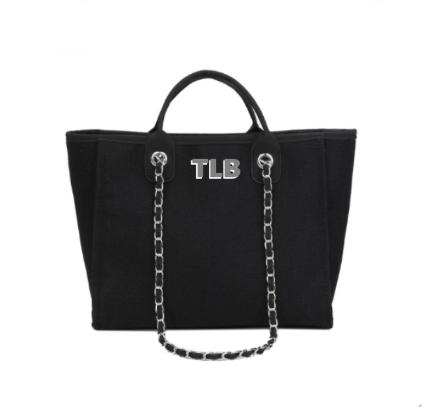 Chanella v2 Chain Bag - Black
