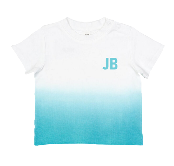 Ombre Baby T-shirt - Blue