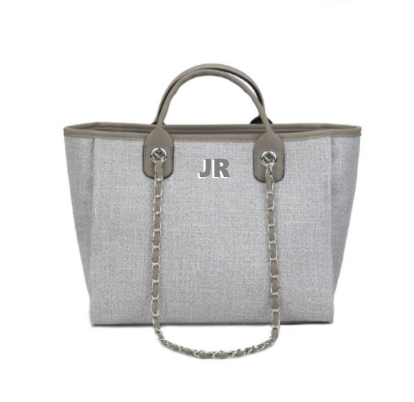 Chanella v2 Chain Bag - Grey