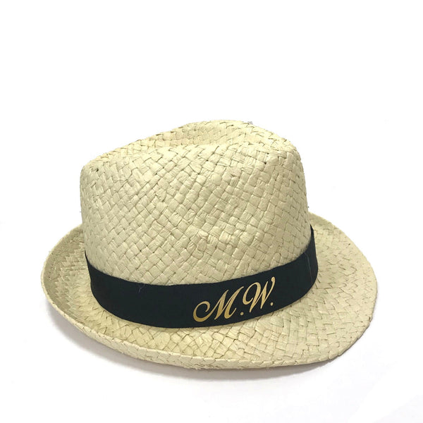 image 1 of Personalised Trilby Hat - Italic