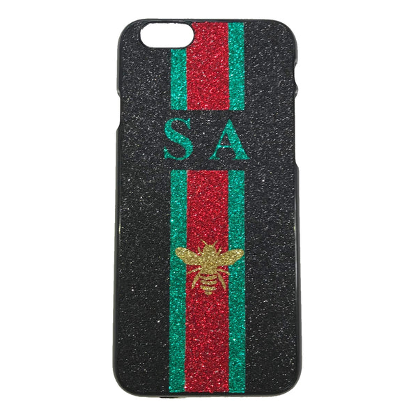 image 1 of BEE Personalised Name iPhone Case - Black