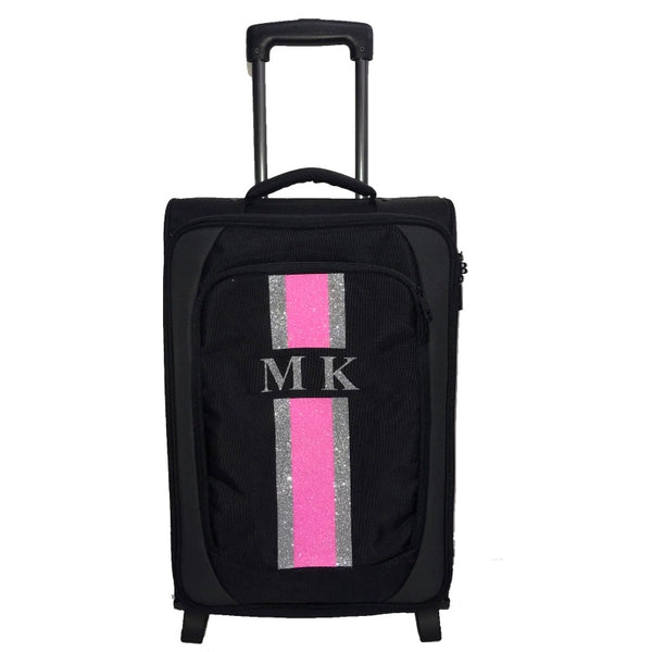image 1 of GLITTER Personalised Small Luggage CASE