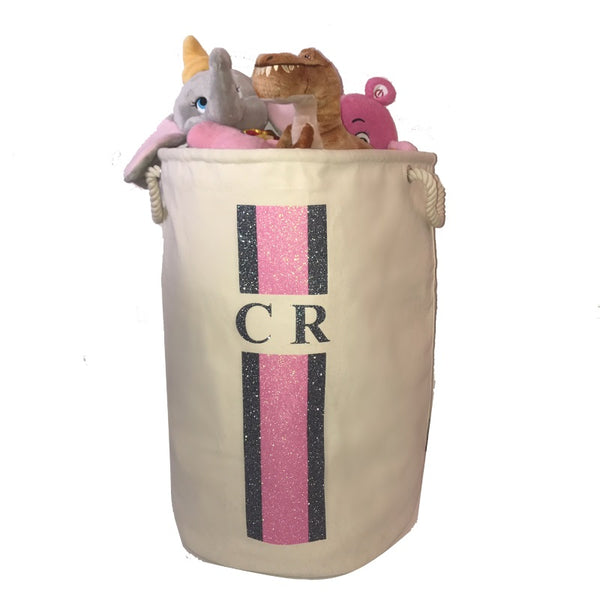 image 1 of GLITTER Personalised Storage Tub