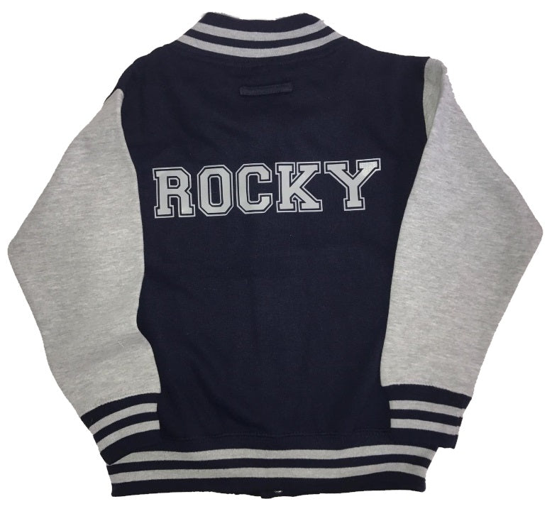 image 1 of Personalised Children's Varsity Jacket