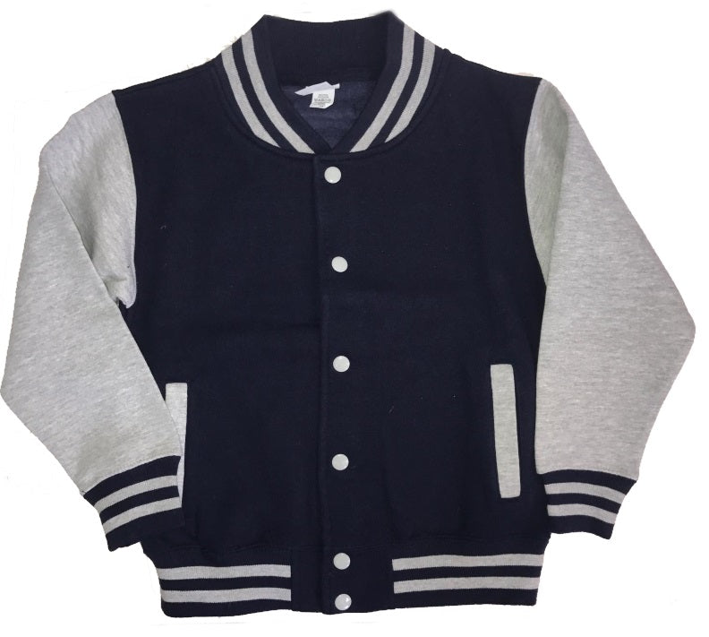 image 2 of GLITTER Personalised Children's Varsity Jacket
