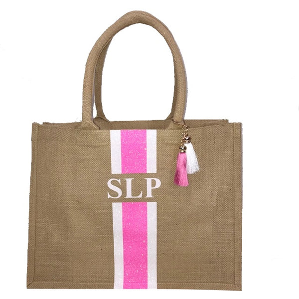 image 2 of GLITTER Personalised Tote Bag  - Large