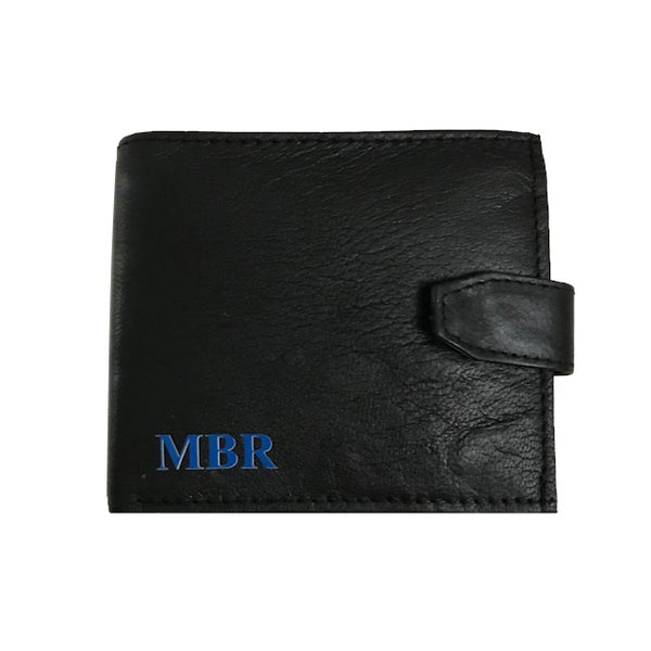 image 1 of MEN'S Personalised Leather Wallet