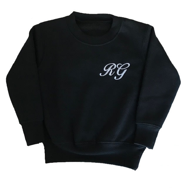 image 1 of Children's Personalised Sweater - Black