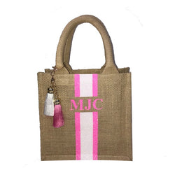 image 1 of Children's GLITTER Personalised Tote Bag