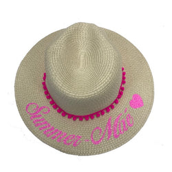 image 1 of Children's Personalised Hat age 6-10