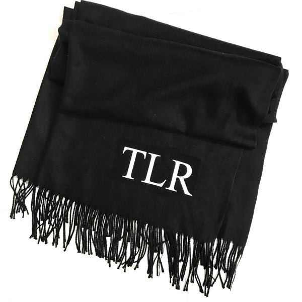 image 1 of Personalised Initial Scarf