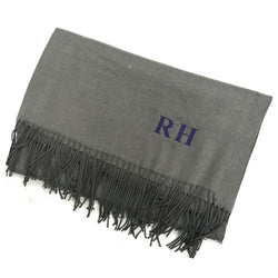 image 1 of MEN'S Personalised Initial Scarf