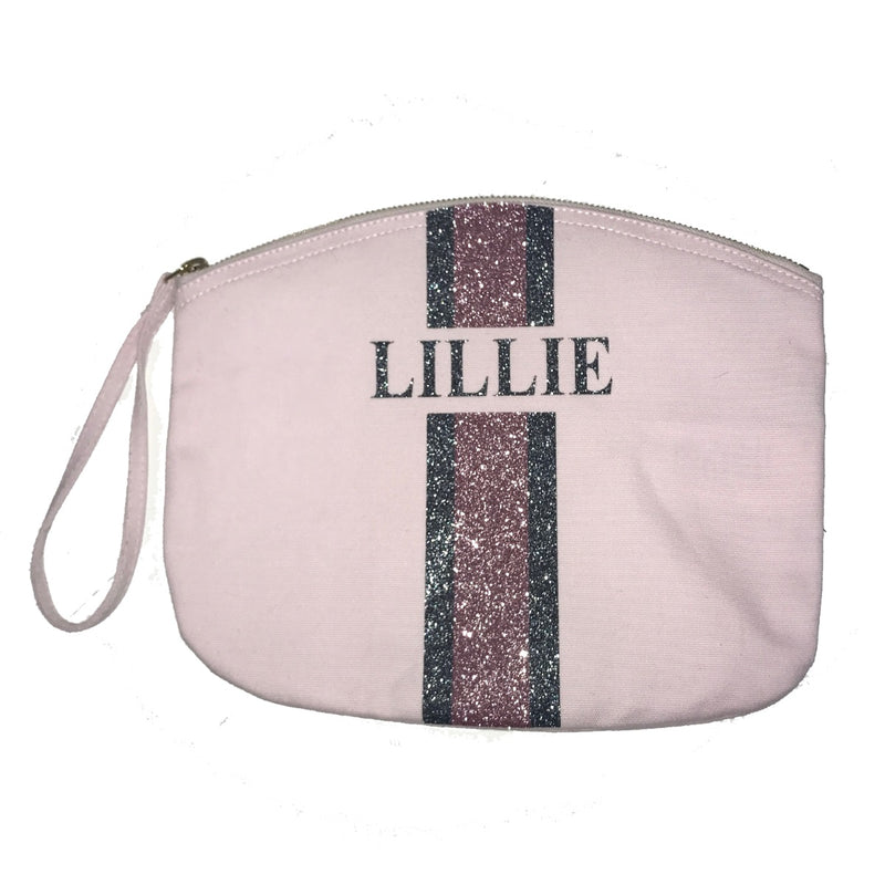 image 1 of Personalised Baby Bag Glitter