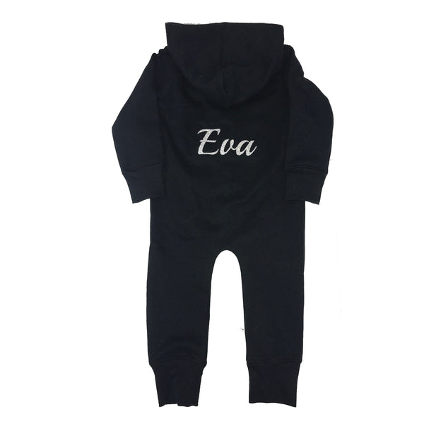 image 1 of Children's GLITTER  Name Onesie