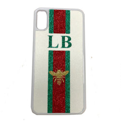 image 1 of BEE Personalised Name iPhone Case - White