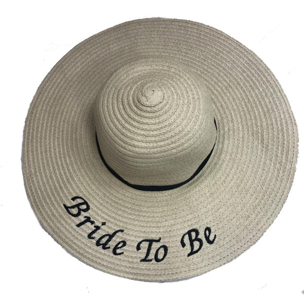 image 1 of Bride To be  Beach Hat