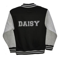 image 1 of GLITTER Personalised Children's Varsity Jacket