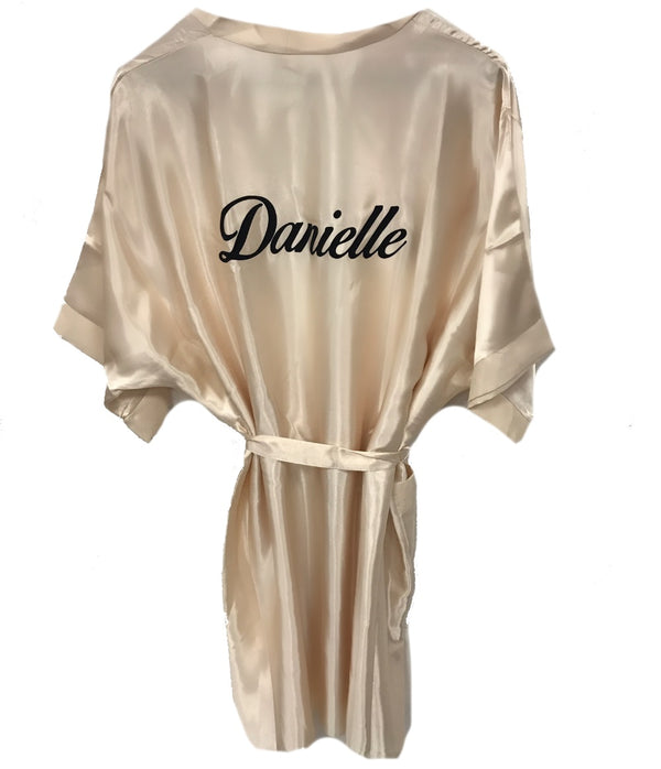 image 1 of Personalised Dressing Gown
