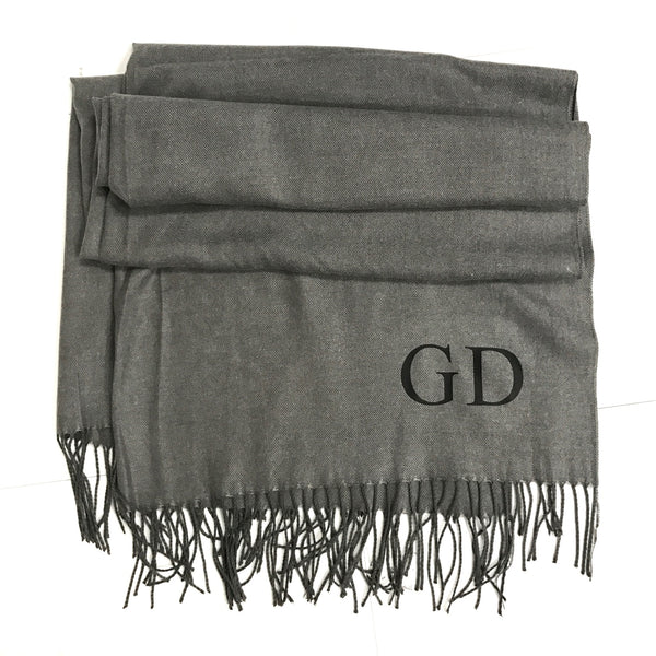 image 2 of Personalised Initial Scarf