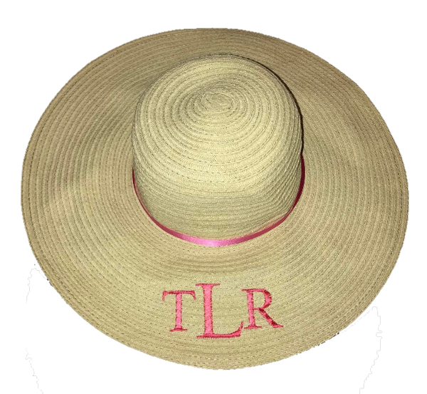 image 1 of Personalised Large Beach Hat