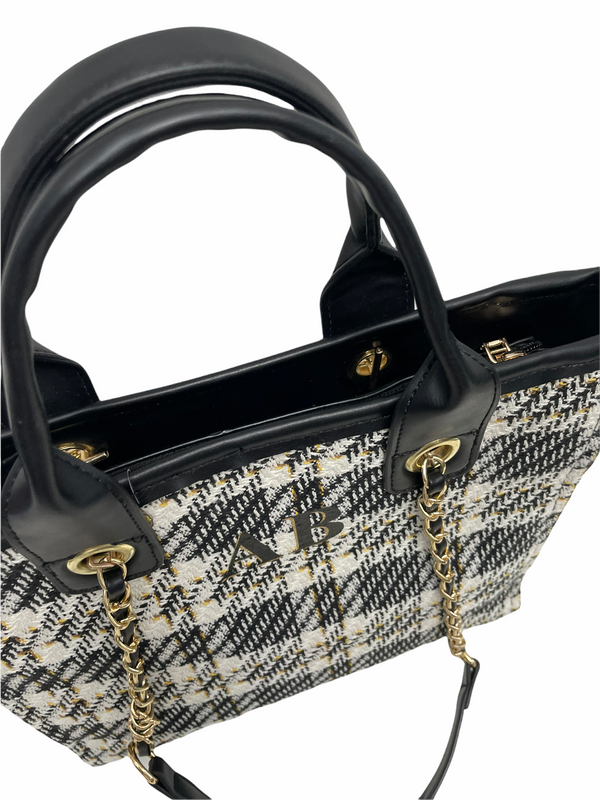 Chanella Chain Bag Duo - Black