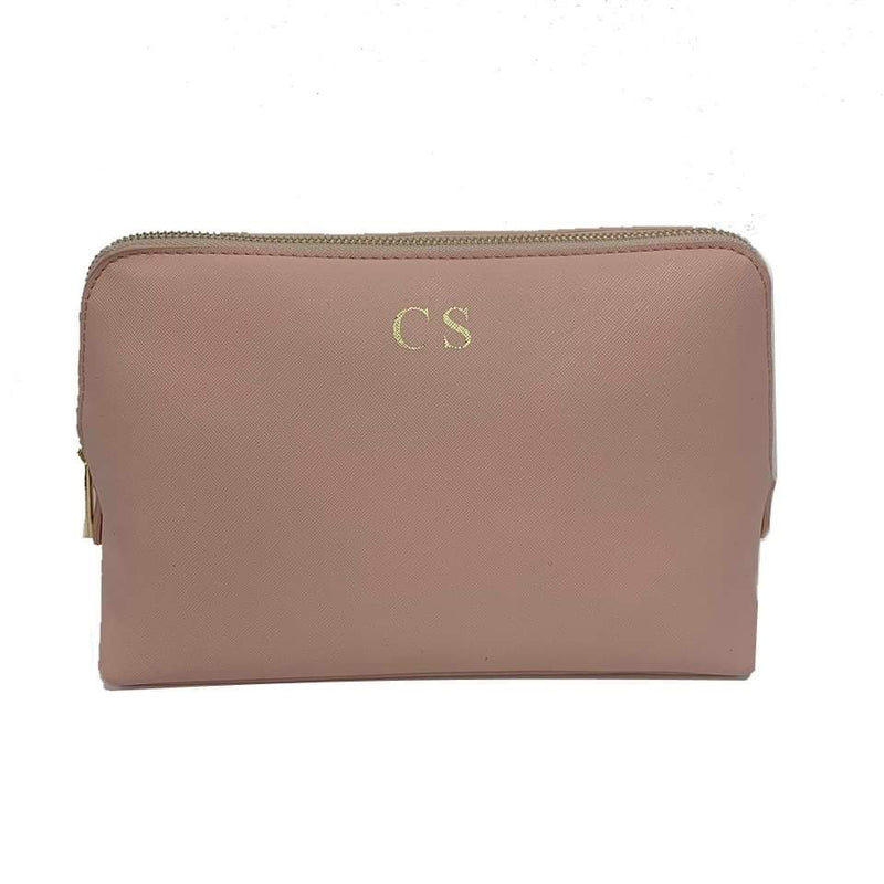 Personalised Make Up Bag - Nude