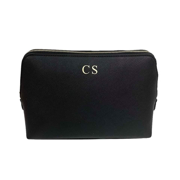 Personalised Make Up Bag - Black
