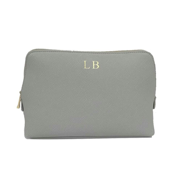 Personalised Make Up Bag - Grey
