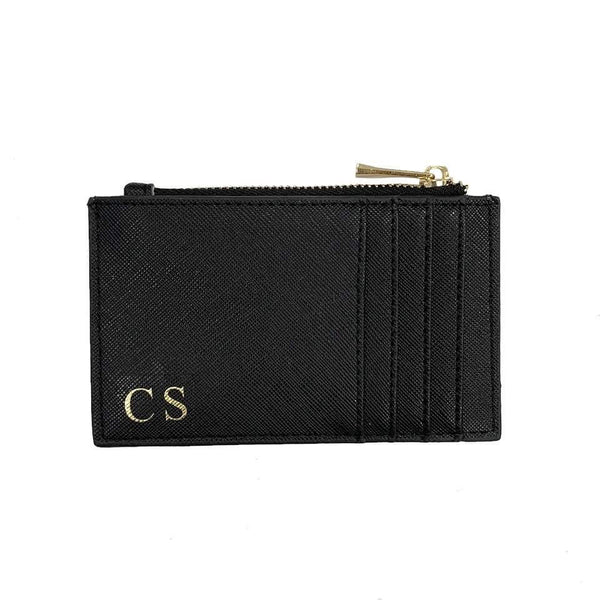 Zip Personalised Card Holder