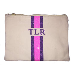 image 1 of GLITTER Personalised Clutch - Large