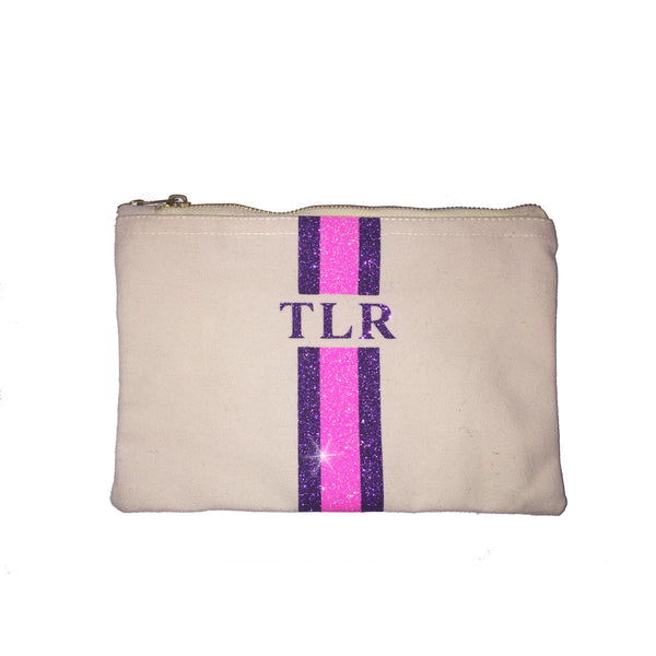 image 1 of GLITTER Personalised Clutch - Medium