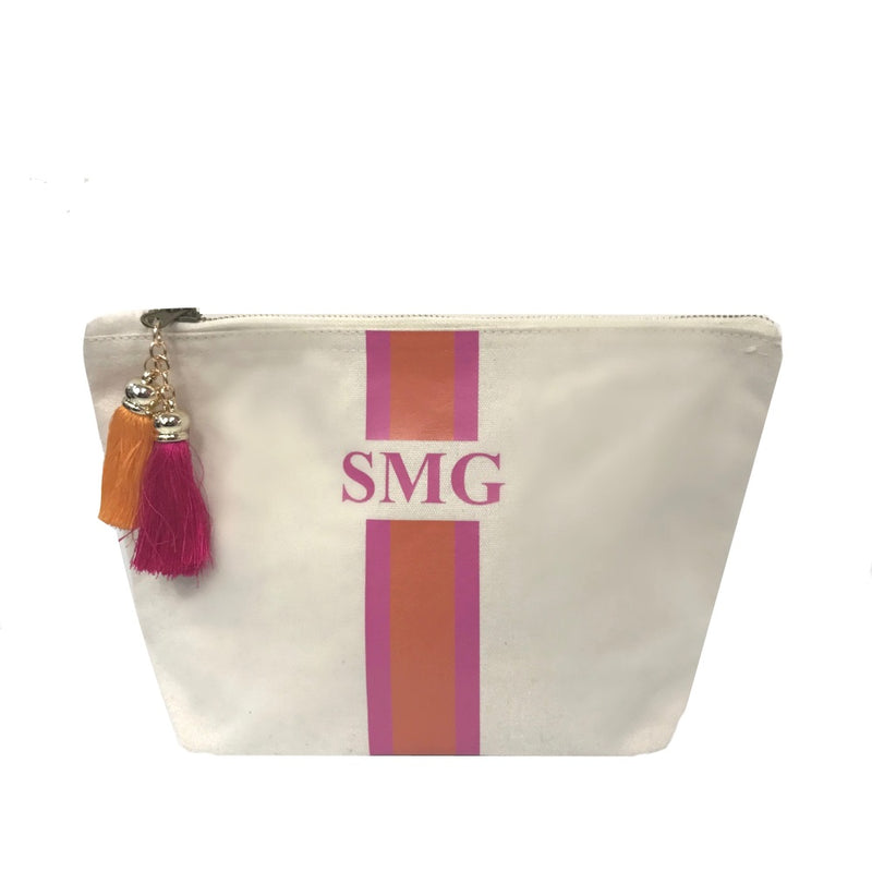 image 1 of Personalised Make Up Bag - Medium