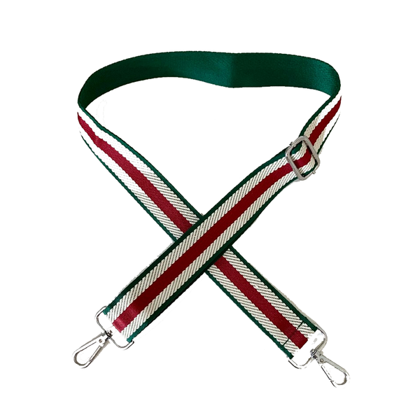 Red and Green Stripe Strap