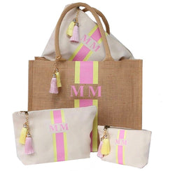 image 1 of Personalised Gift Set Tote Bag Large