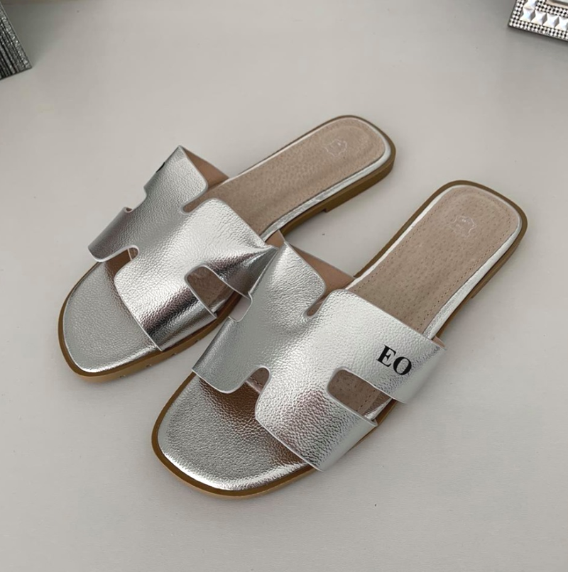 Tanya Lee H Sandals - Silver