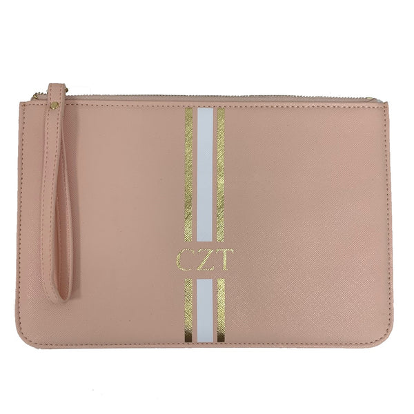 Boutique Clutch Bag - Nude