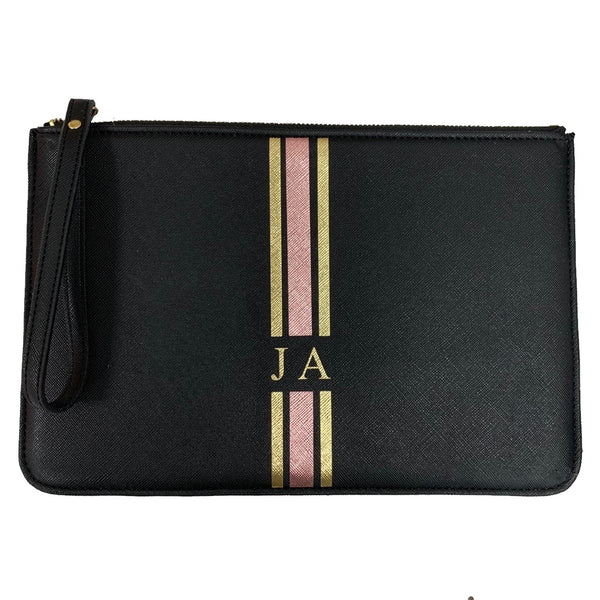 Boutique Clutch Bag - Black