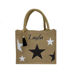 Stars Children's Personalised Tote Bag
