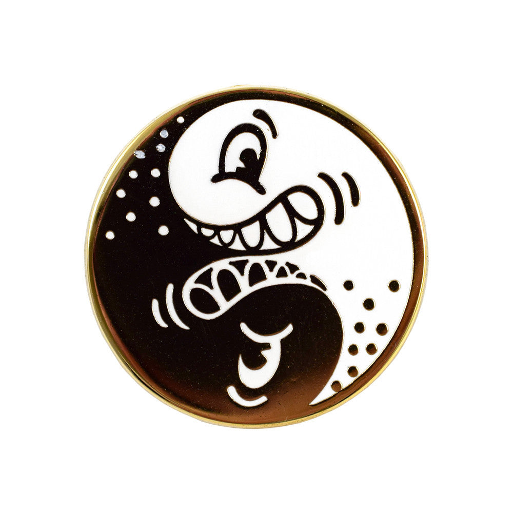 Valley Cruise Press Yin Yang Pin Badge
