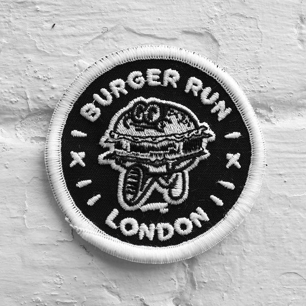 Burger Run Embroidered Patch