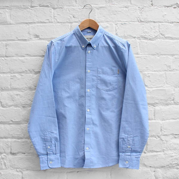 Carhartt WIP Button Down Pocket Shirt Bleach