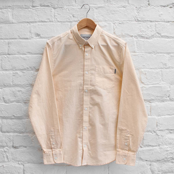 Carhartt Button Down Pocket Shirt Ibiza